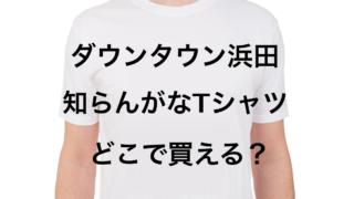 知らんがなTシャツ