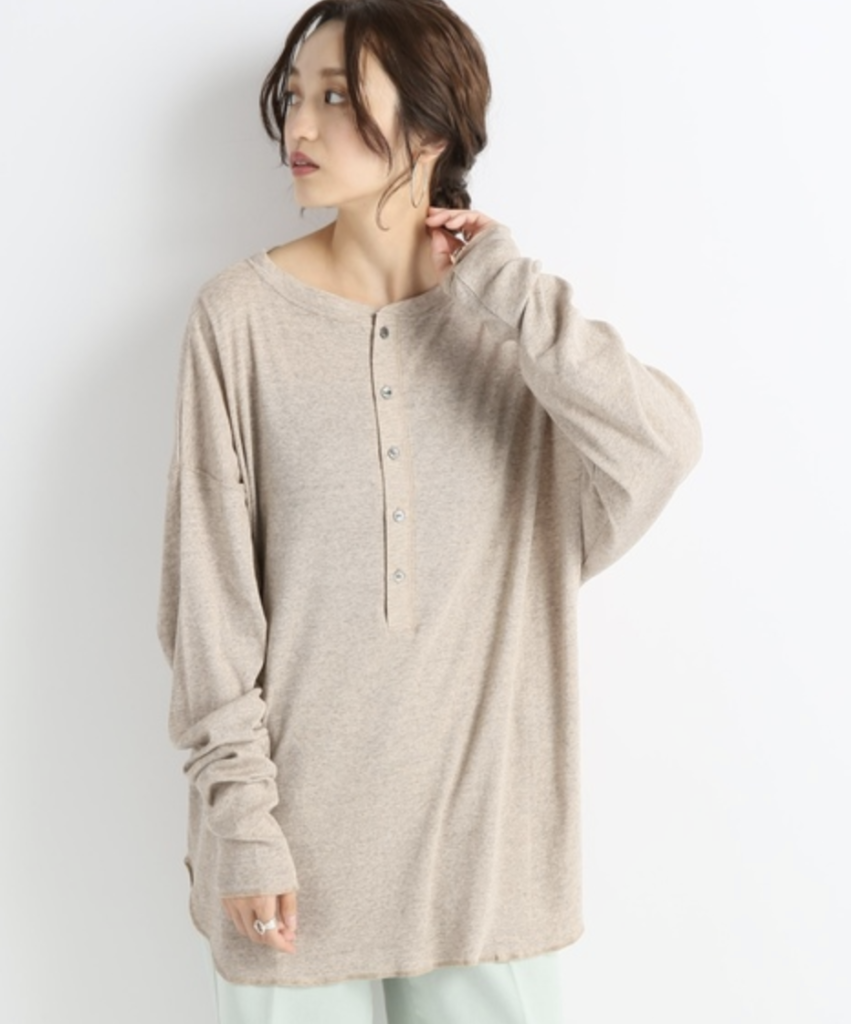 CITY SHOPのSOFT RIB SHIRT