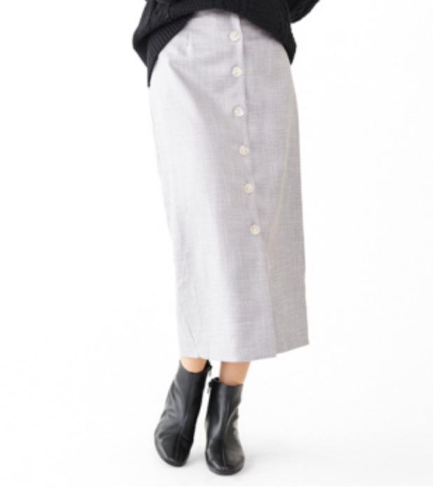 bright check skirt ~ブライトチェックスカート flower