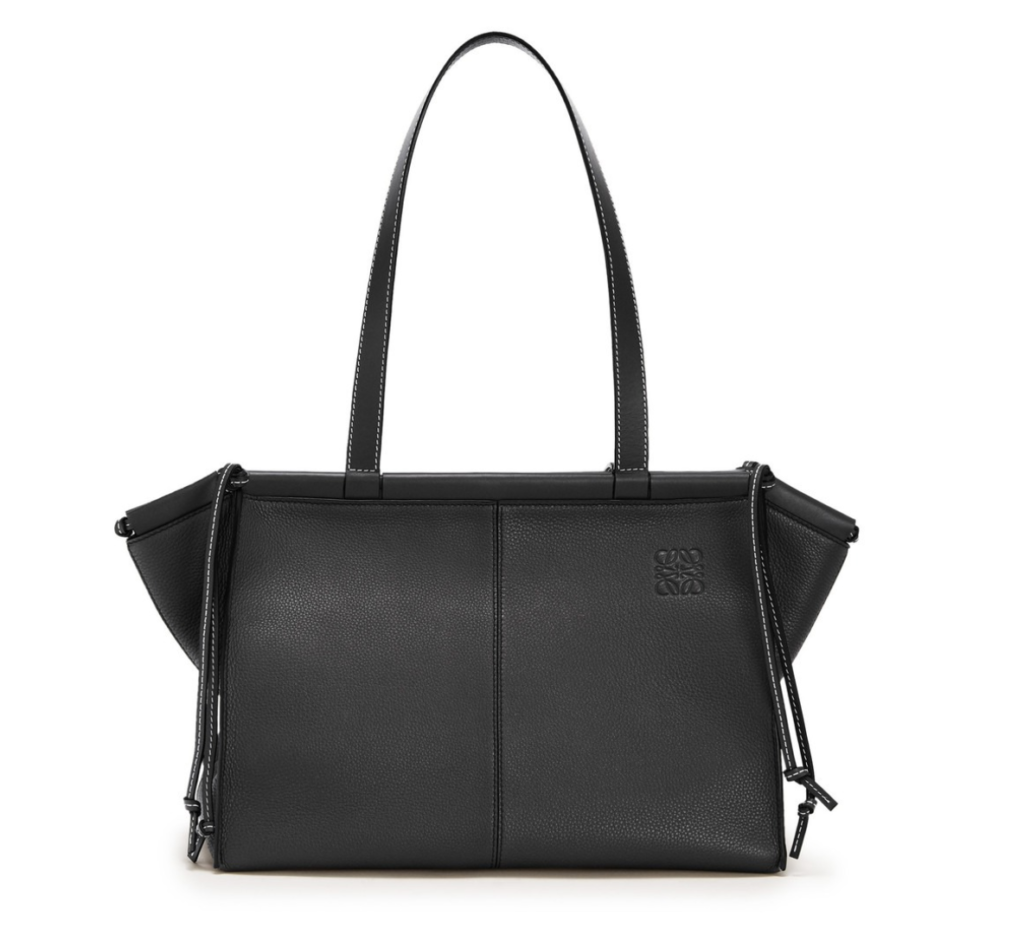 LOEWE(ロエベ)のCushion leather tote bag【Black】