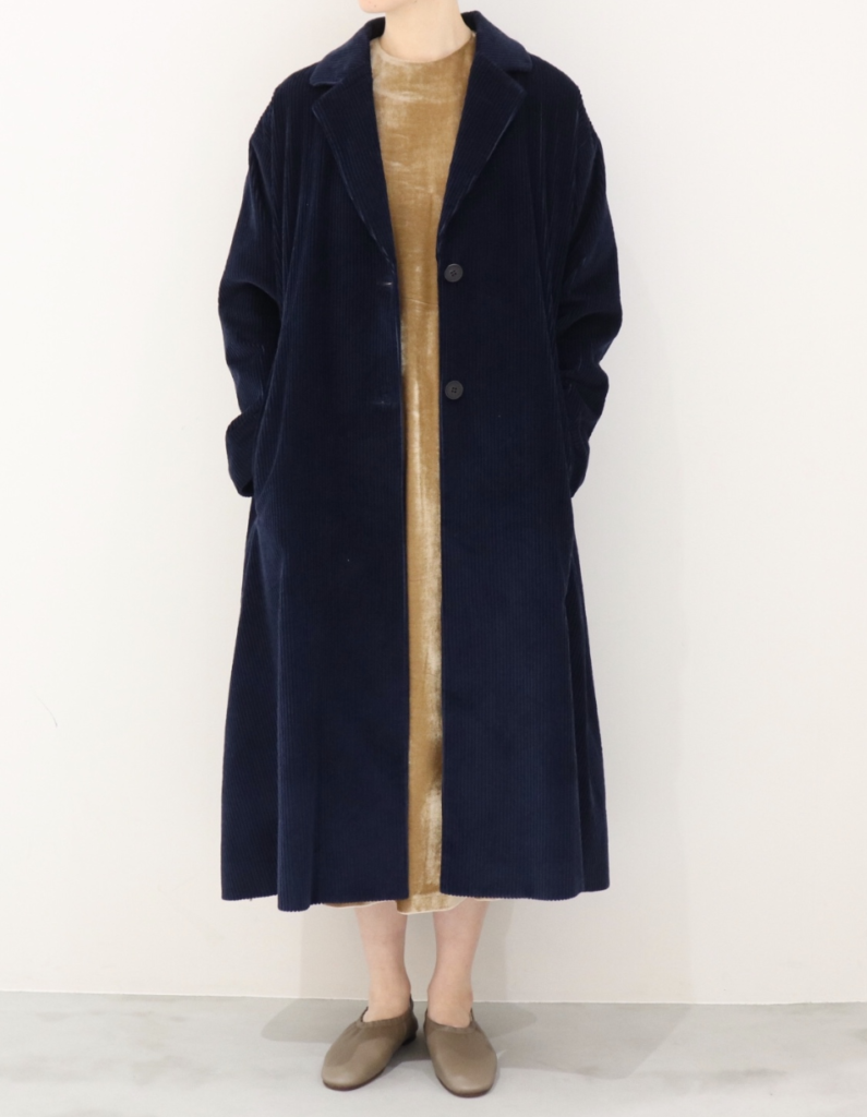 REKISAMIのcorduroy long coat